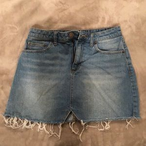 Urban Outfitters BDG Mini Jean Skirt